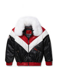 Women's V-bomber In Black/Red/White