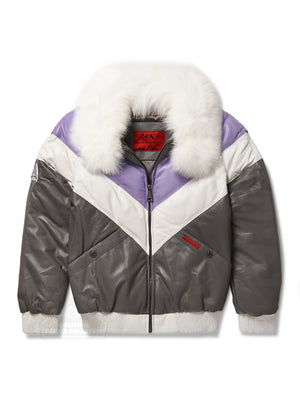 Women's V-bomber In Purple/Grey/White