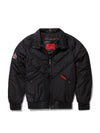 New Men's V-Bomber Nylon w/ Black Fox Fur Collar
