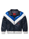 New Men's V-Bomber Navy/Blue/White