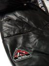 Men's Yukon Bubble Jacket w/ Hood Black & White