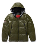 Men's Yukon Bubble Jacket w/ Hood Olive