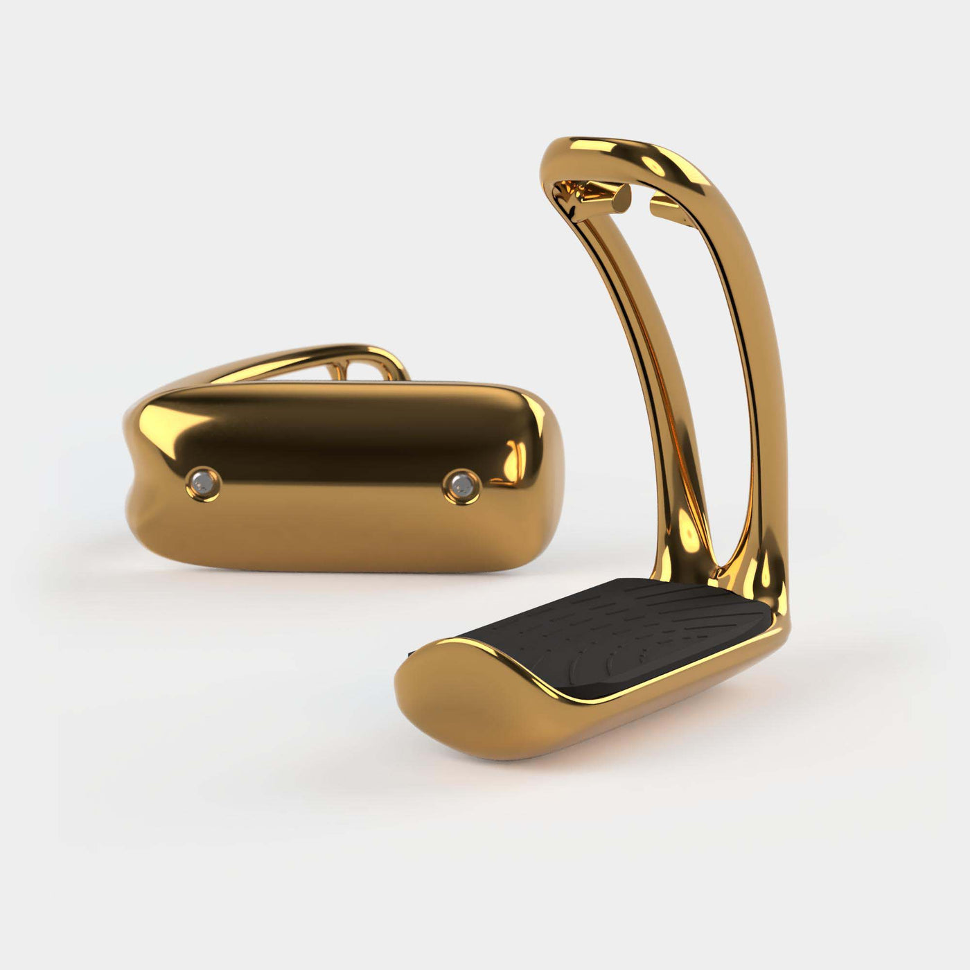 Magnetic safety stirrup Ophena T in Gold