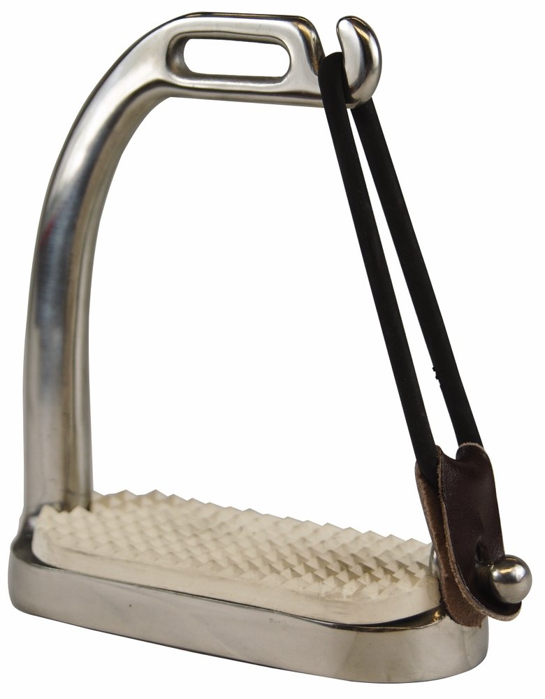 Tuff Rider Stainless Steel Peacock Stirrups