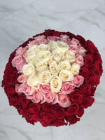 100 ROSE HAND-TIED BOUQUET Available in Vancouver and Red Deer Studio