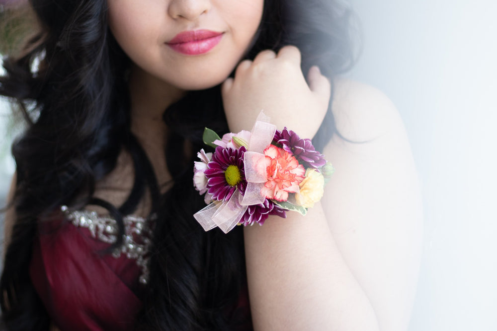 Corsage available in Vancouver and Red Deer Studio
