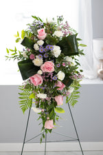Standing Spray Arrangements | Vancouver & Red Deer Florist | House of Fiori