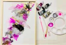 Load image into Gallery viewer, Orginial Alcohol Ink Art