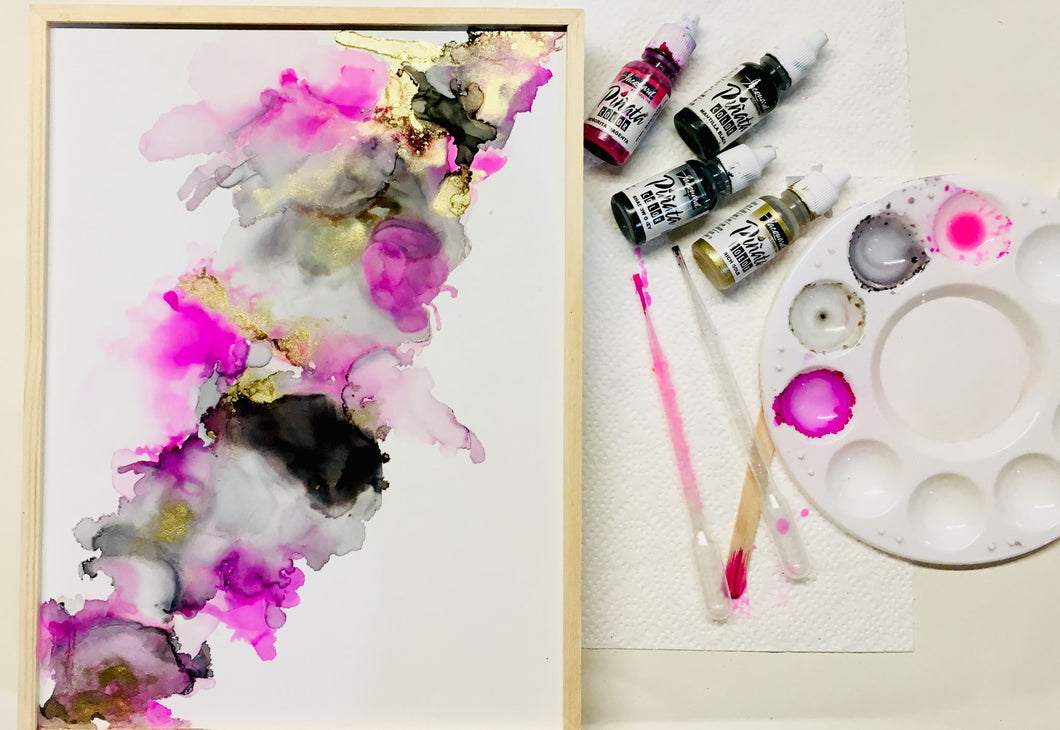 Orginial Alcohol Ink Art