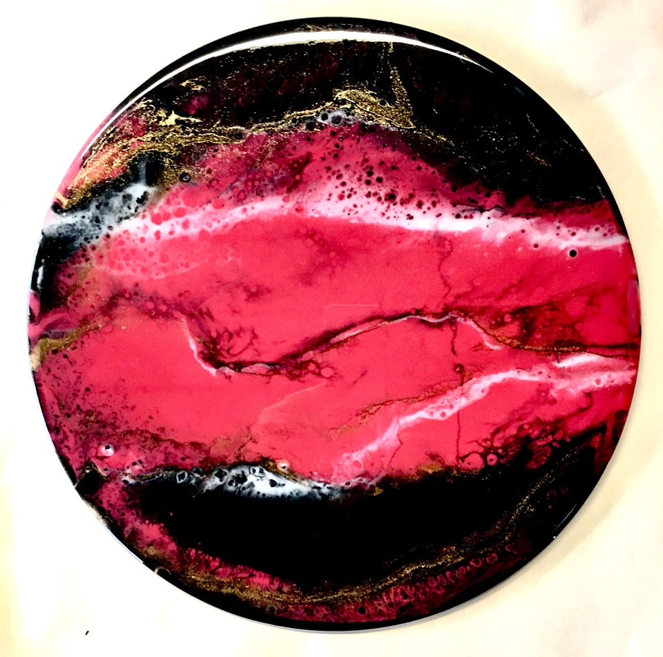 Resin Art - MEXICAN PINK