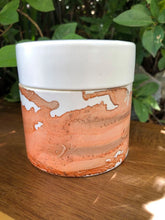 Load image into Gallery viewer, Candle - hand painted ceramic -  Bergamot & Patchouli