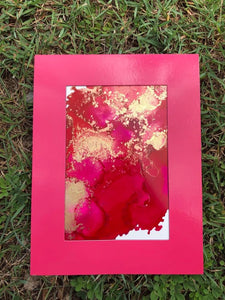 Magnetic Frame - Orginial Alcohol Ink