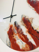 Load image into Gallery viewer, Resin Art Wall Clock - HOLDING ONTO TIME