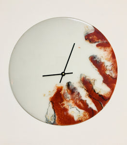 Resin Art Wall Clock - HOLDING ONTO TIME