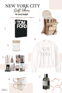 7 Gift Ideas for the Lover of All Things New York City