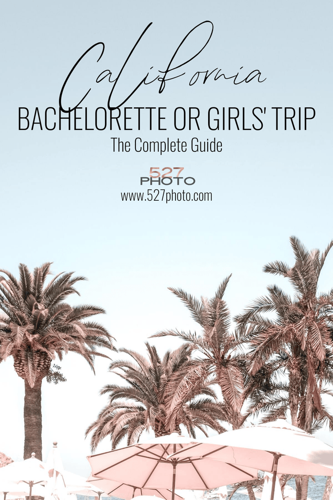 Huntington Beach & Catalina Island Bachelorette Party Itinerary