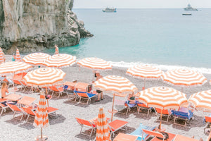 The Beach Clubs of Positano, Italy