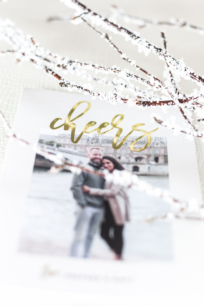 Save 20% on Foil Holiday and Christmas Cards with code 527PHOTO