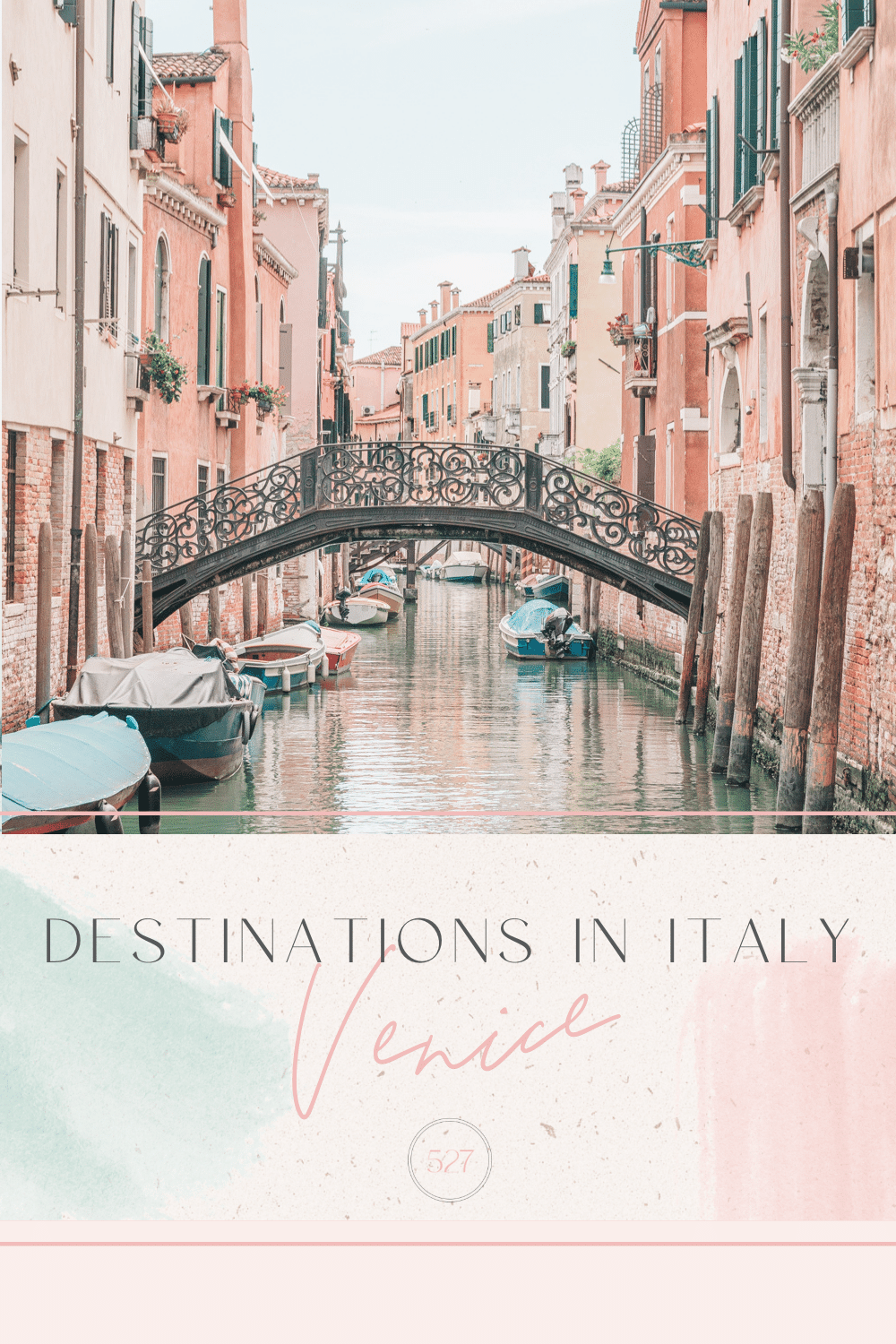 Destinations in Italy Venice Travel Guide