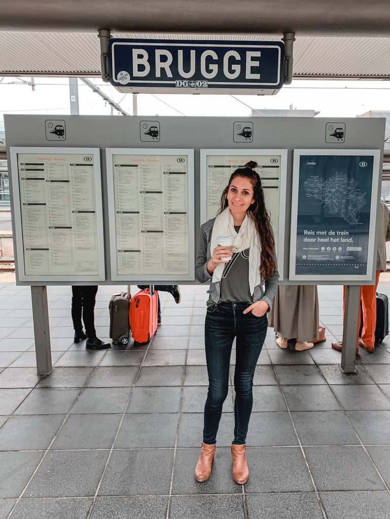 How to book train from Bruges to Brussels