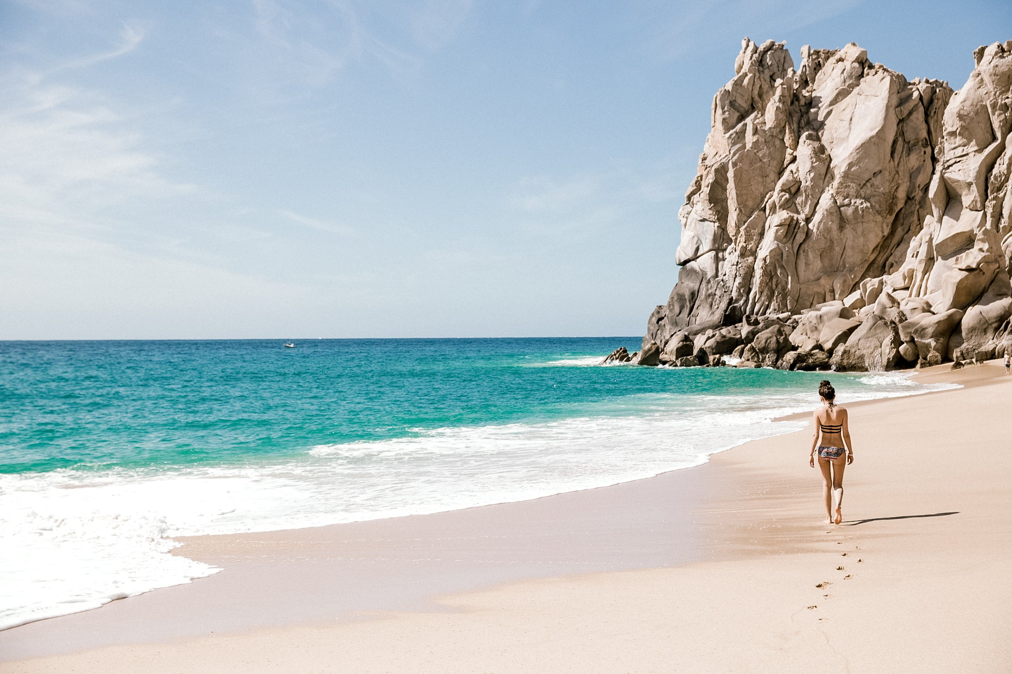 secluded beach cabo