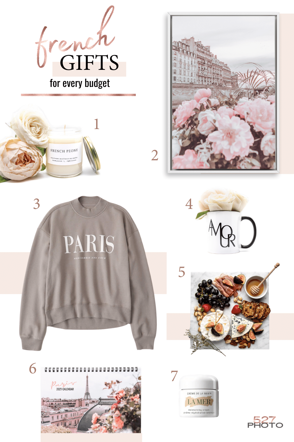 French gifts for a daughter, sister, best friend or coworker