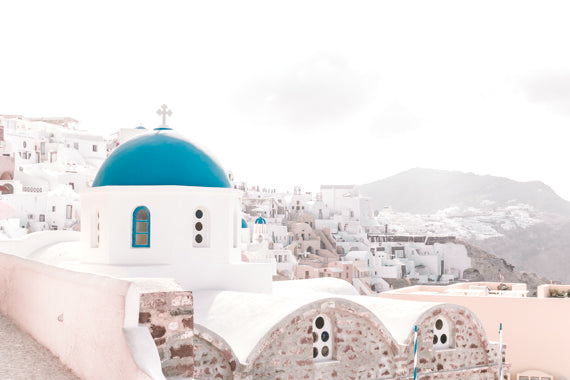 SANTORINI GREECE PHOTOGRAPHY PRINT