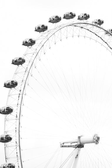 LONDON EYE WALL ART