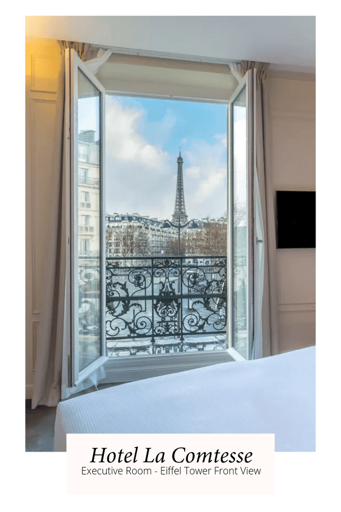 Hotels with Eiffel Tower Views Paris