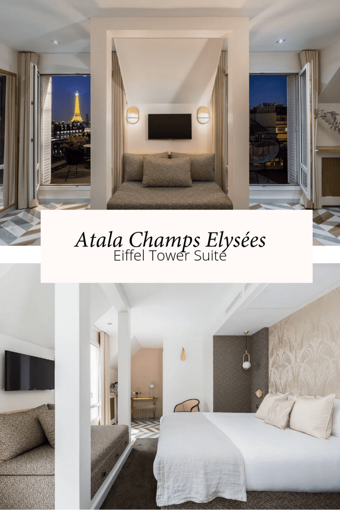 Paris hotels Eiffel Tower views