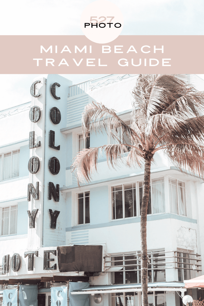 What to do in Miami Beach