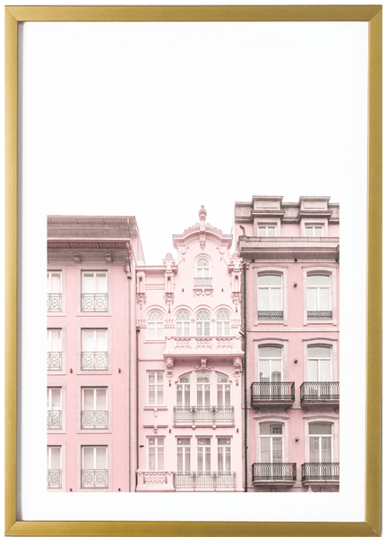 Affordable pastel pink art prints