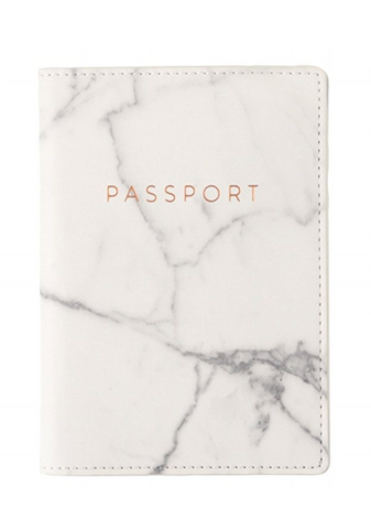 marble passport cover