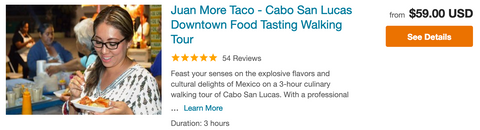 best walking food tour cabo