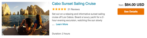 best sunset cruise cabo san lucas