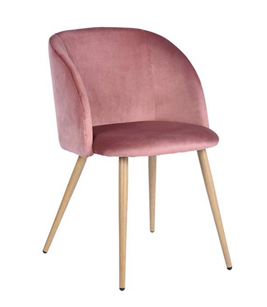 affordable pink dining chair