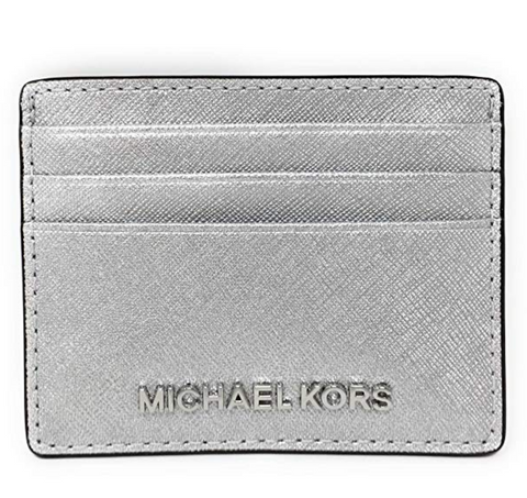 Michael Kors thin credit card wallet for travel