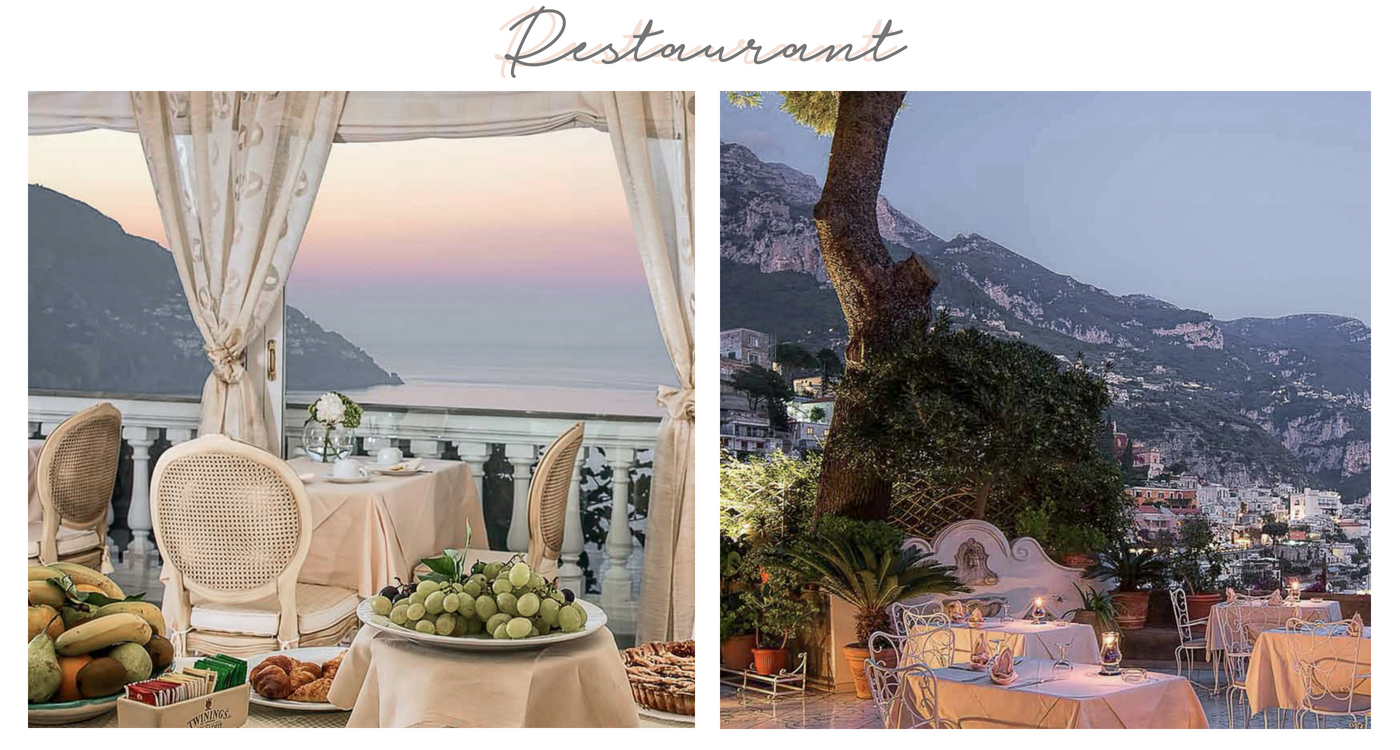 where to stay positano