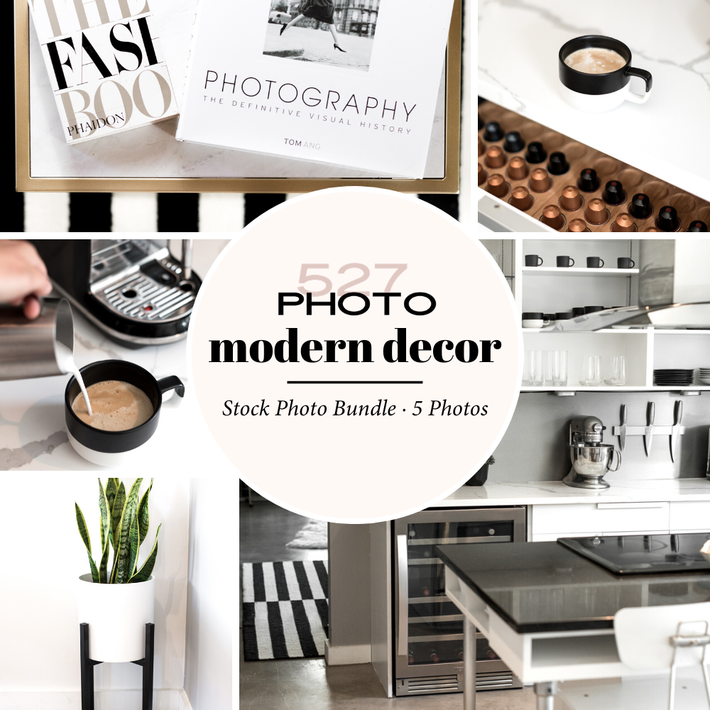Modern Decor Styled Stock Images