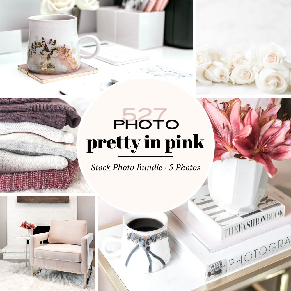 Affordable styled images to use on Instagram