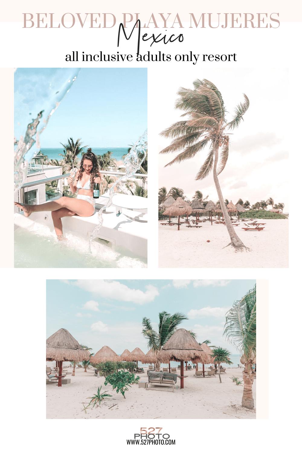 all inclusive beach vacation adults only resort mexico