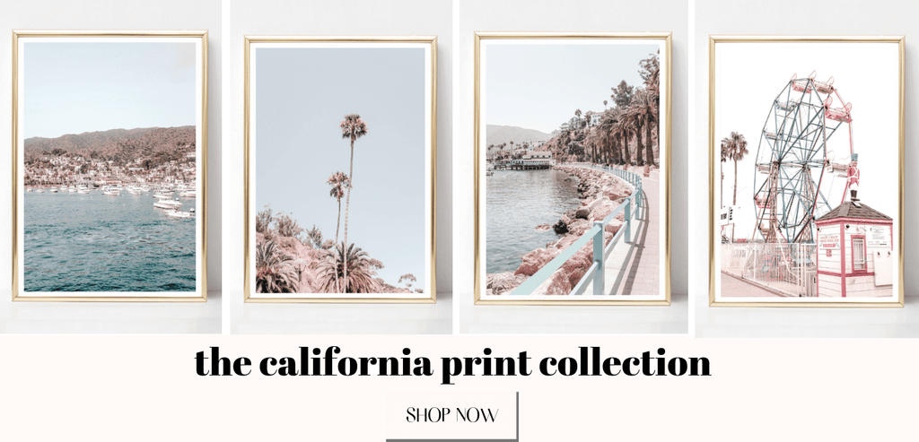 california wall art prints