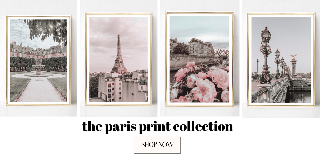 Paris Photography Prints Wall Art