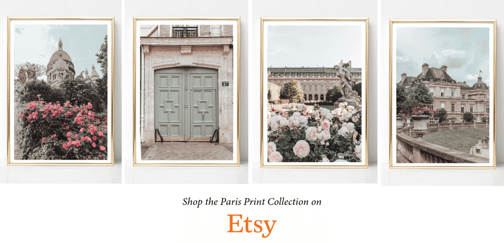 Paris Photography Wall Art Prints