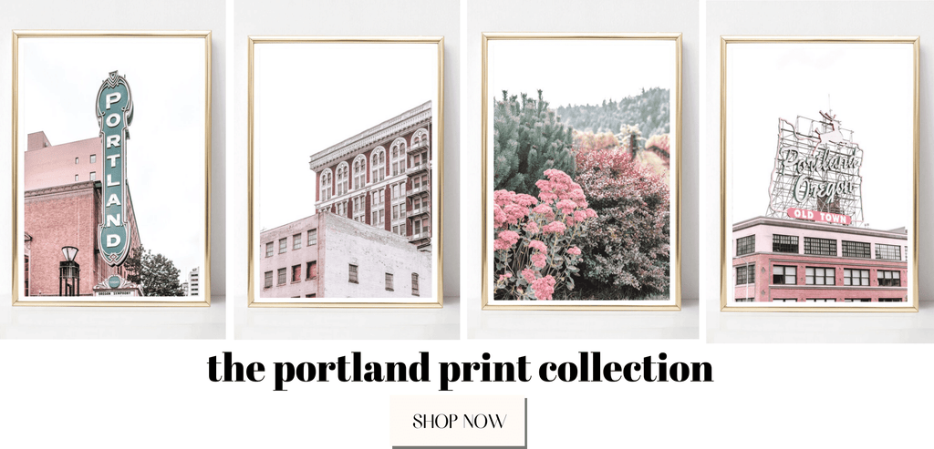 Portland wall art prints