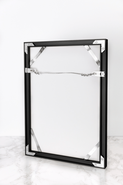 Modern Metal Frame - Black - 527 Photo