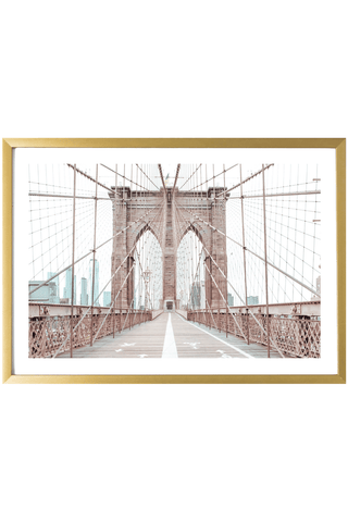Brooklyn Print - Brooklyn Print - Brooklyn Bridge #1