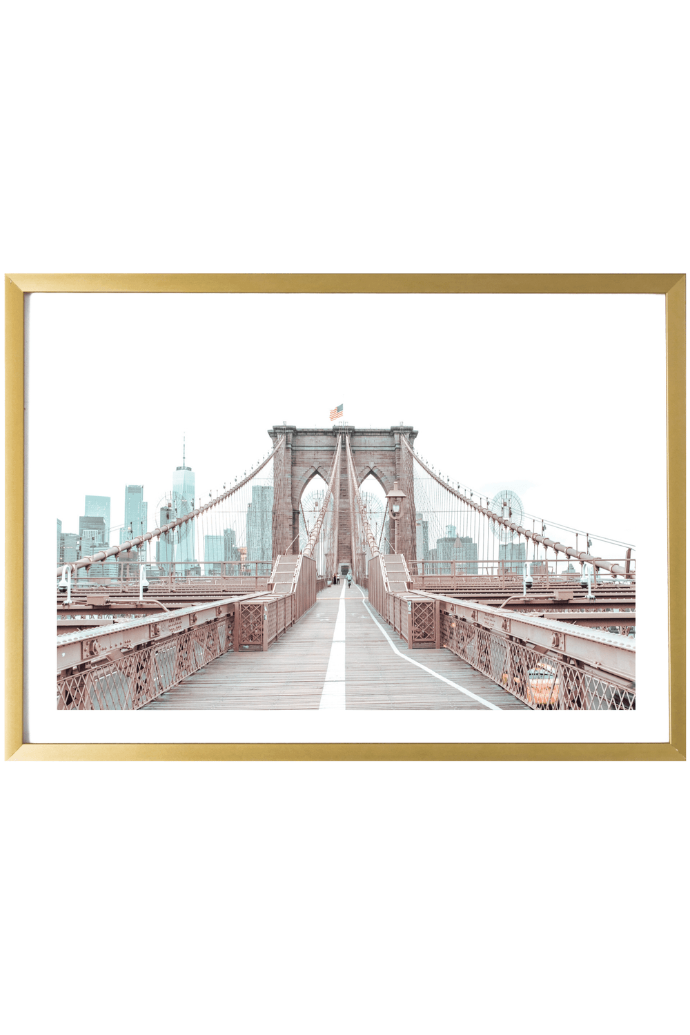 Brooklyn Print - Brooklyn Print - Brooklyn Bridge #2