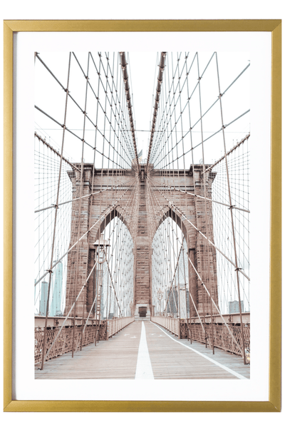 Brooklyn Art Print - Brooklyn Bridge #3