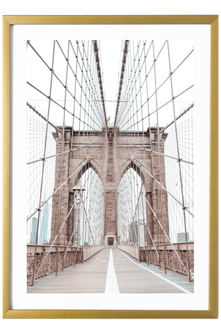 Brooklyn Print - Brooklyn Print - Brooklyn Bridge #3